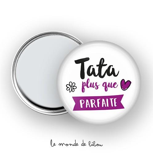 Miroir de poche Tata parfaite