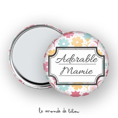 Miroir de poche Adorable mamie