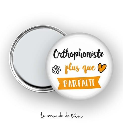 Miroir de poche Orthophoniste plus que parfaite