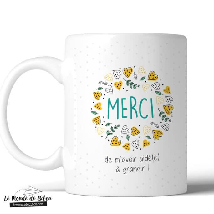 Mug remerciement Nounou