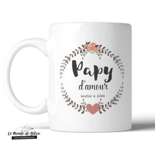 Mug Papy d'amour