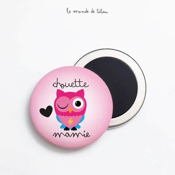 Magnet Chouette mamie
