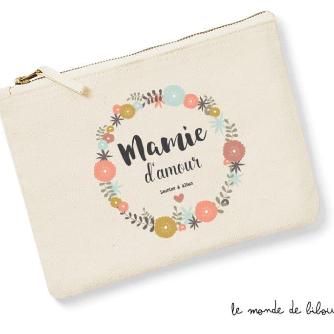 Pochette Trousse Mamie d'amour