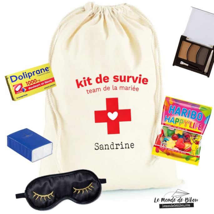 Kit de survie team de la mariée