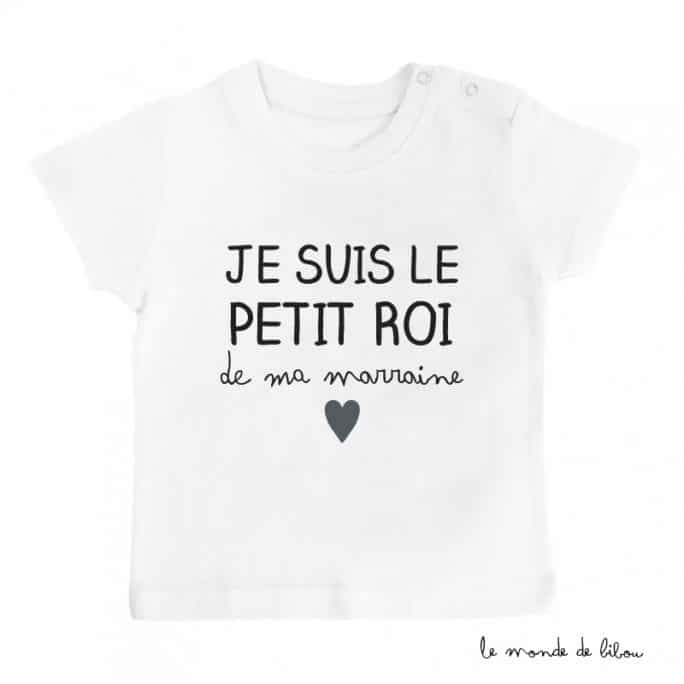 T-shirt Petit roi Marraine