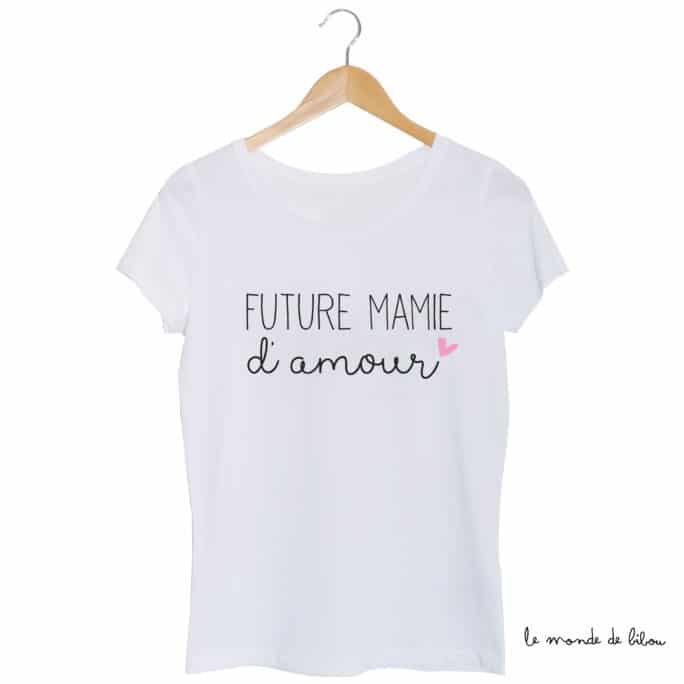 Tee-shirt Future Mamie d'amour