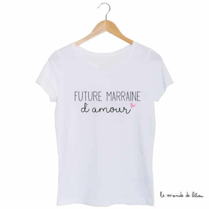 Tee-shirt Future Marraine d'amour