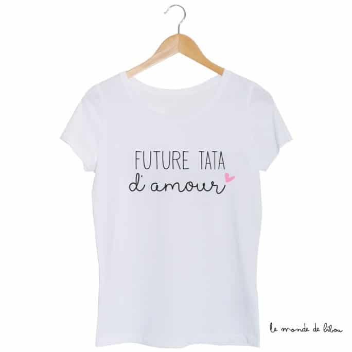 Tee-shirt Future Tata d'amour