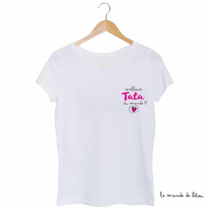 Tee-shirt Meilleure tata du monde