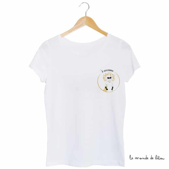 Tee-shirt Marraine Super-héros