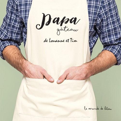 Tablier adulte Papa gâteau