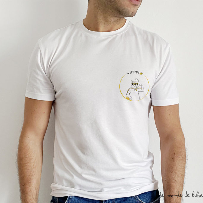 Tee-shirt Super papy