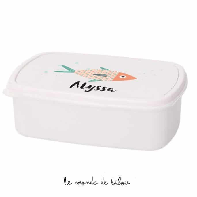 Boîte à Goûter Petite sardine
