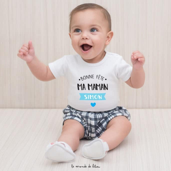 T-shirt bébé Fête des Mères