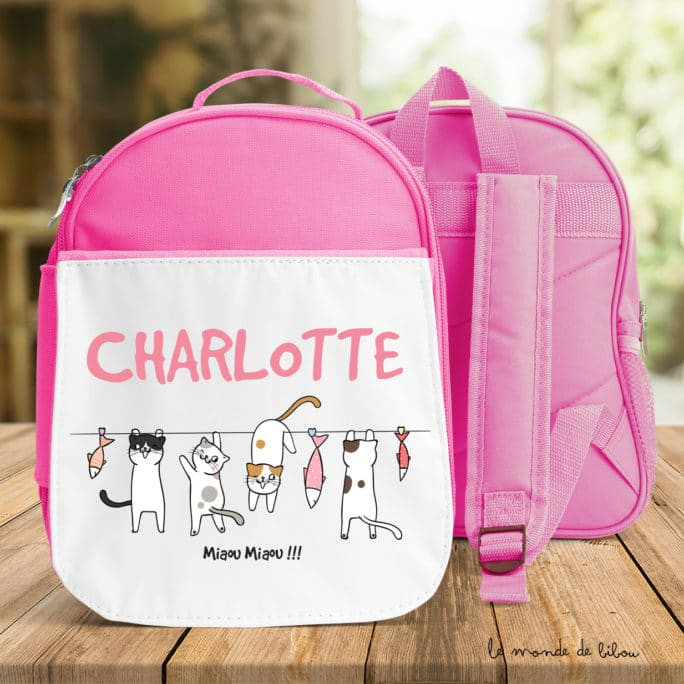 Cartable Petits chats fille