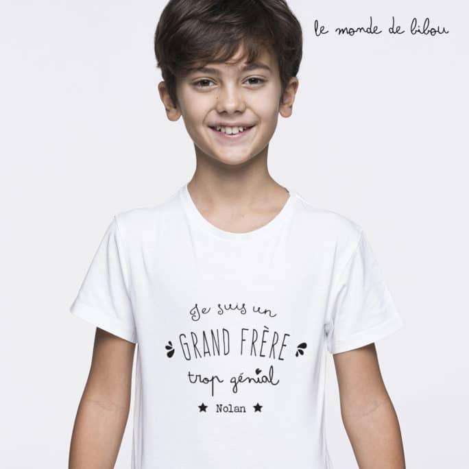 T-Shirt Grand frère/sœur génial