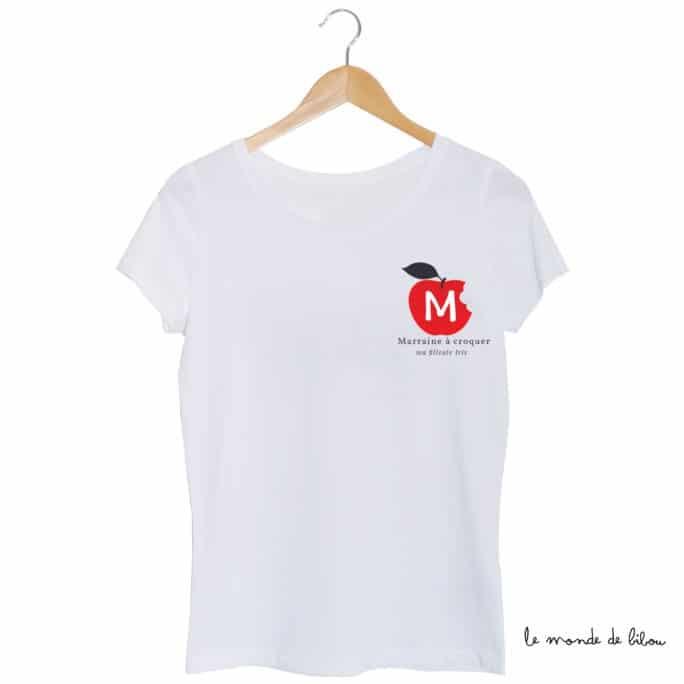 Tee-shirt Marraine à croquer