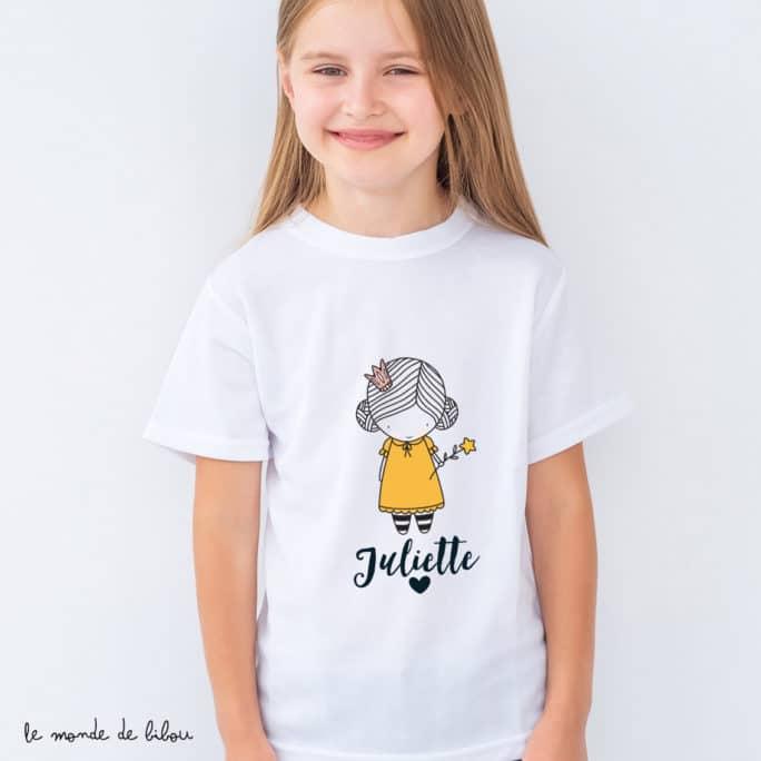 T-Shirt enfant Petite princesse