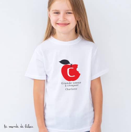 T-Shirt Grand frère/sœur à croquer