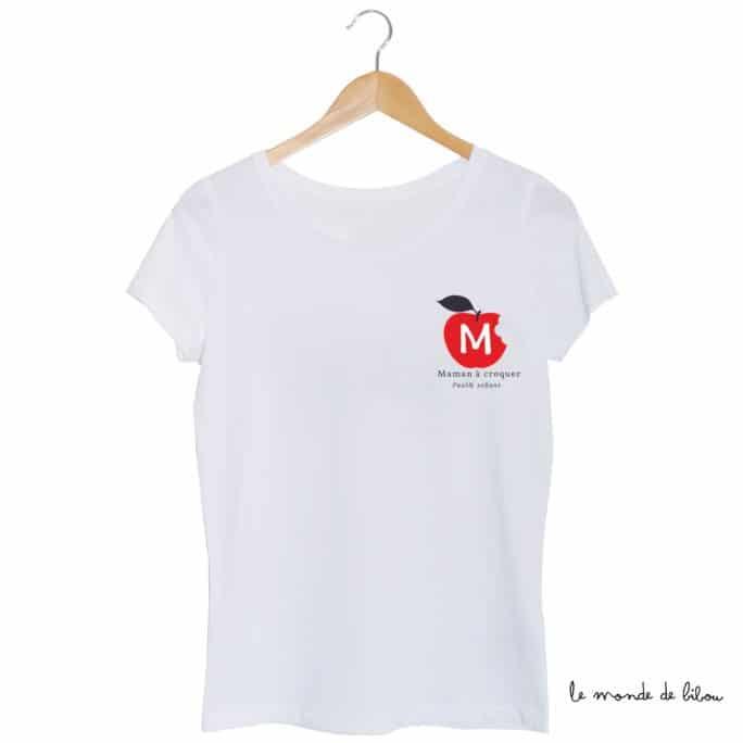 Tee-shirt Maman à croquer