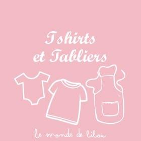 Tshirts et tabliers