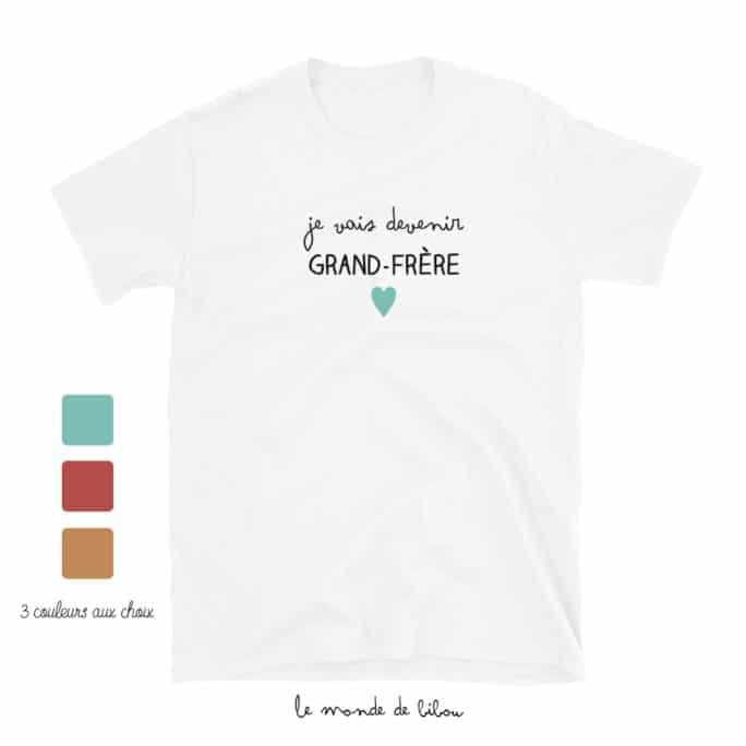 T-Shirt annonce frère ou sœur