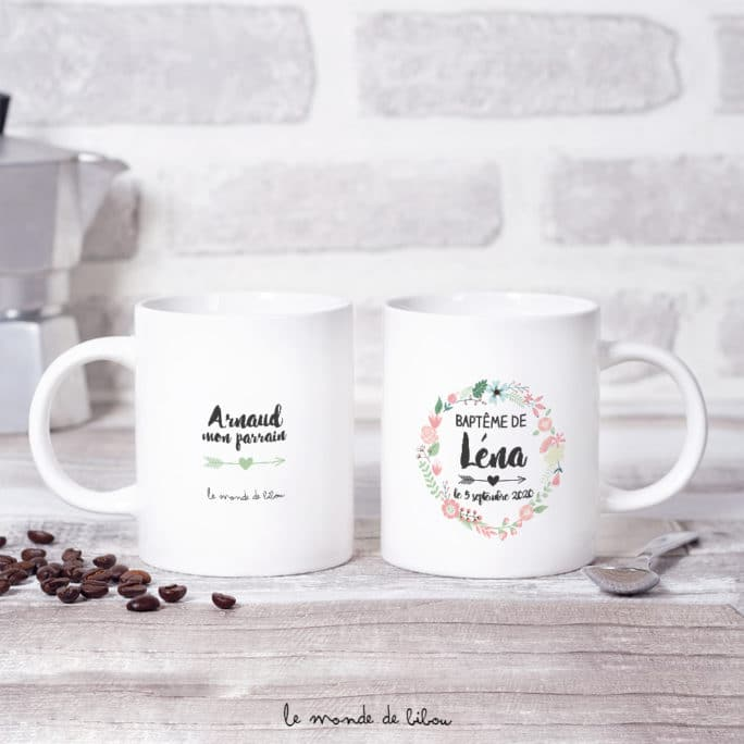 Duo Mugs Couronne Boho
