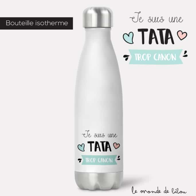 Bouteille isotherme Tata canon