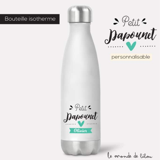 Bouteille isotherme Papounet