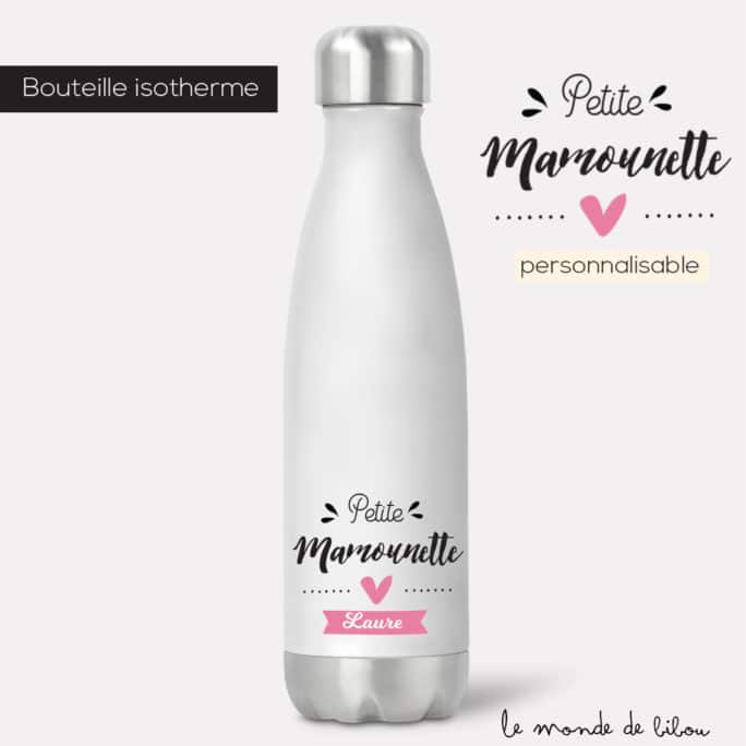 Bouteille isotherme Mamounette