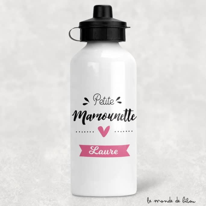 Gourde personnalisée Mamounette