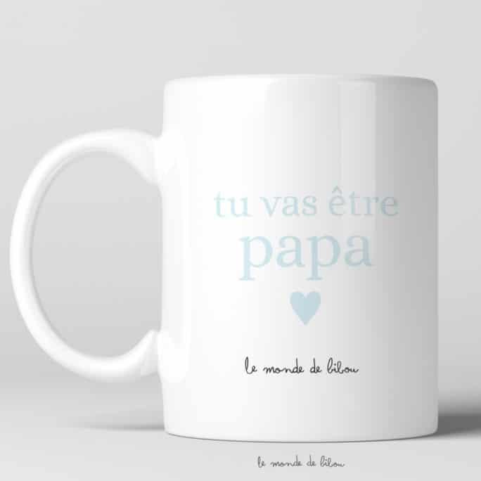 Mug magique Tu vas être papa