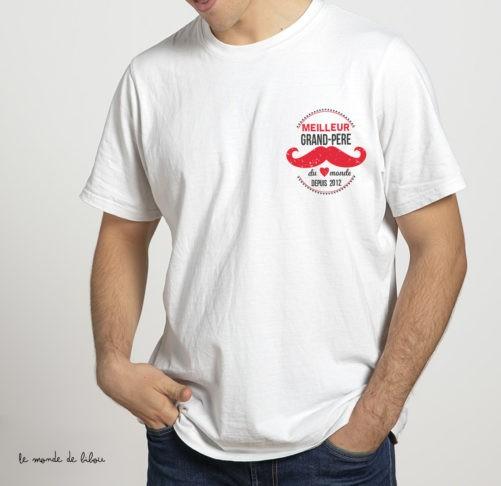 Tee-shirt Meilleur grand père