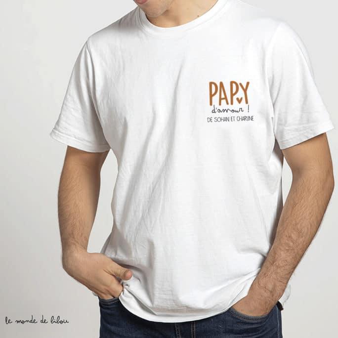 T-shirt Papy d'amour