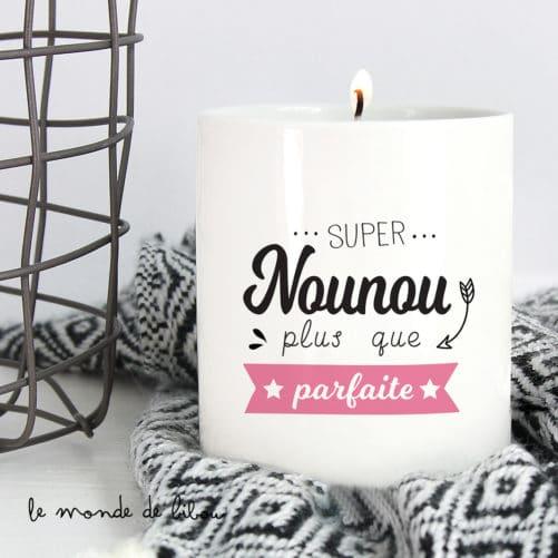 Bougie Parfaite Nounou