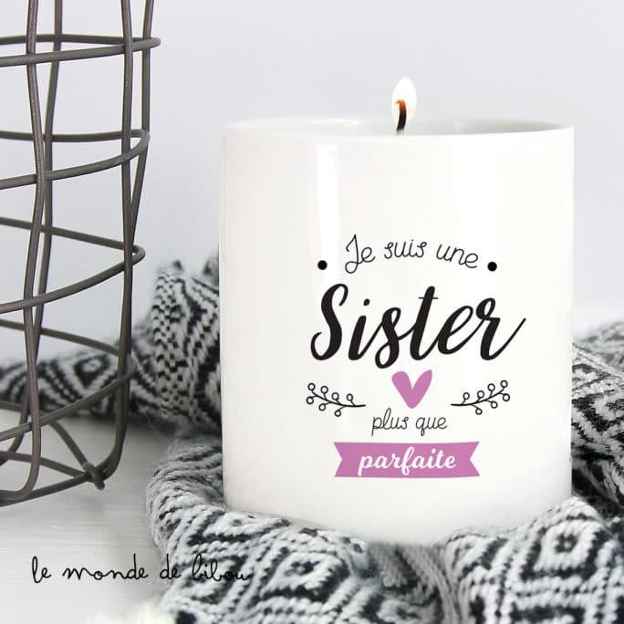 Bougie Sister plus que parfaite