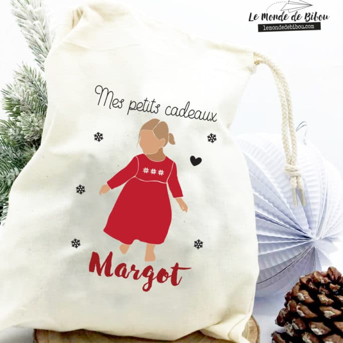 Hotte de Noël Fillette taille S