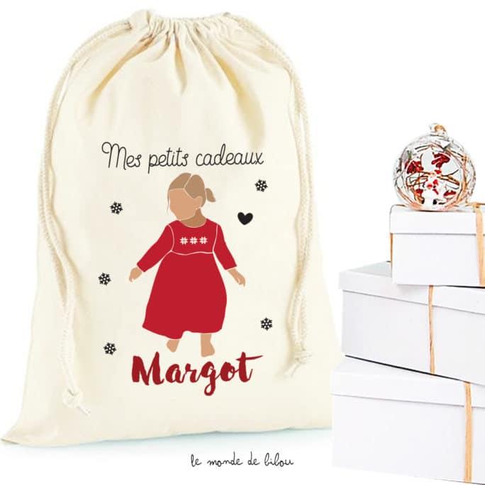 Hotte de Noël Fillette taille M