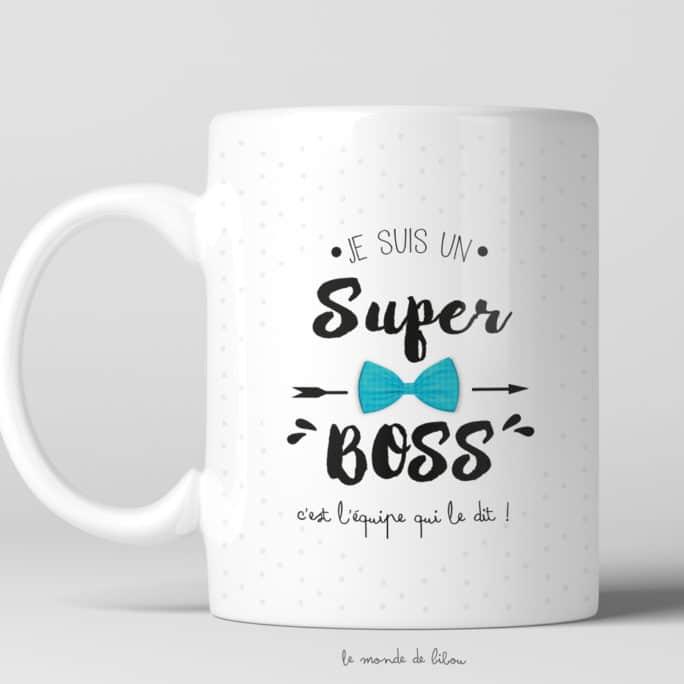 Mug pour un Super boss