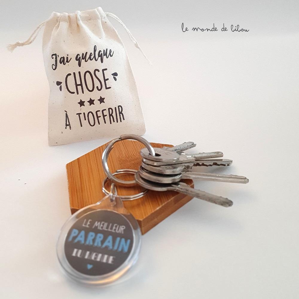 Porte clés Meilleur Parrain du monde