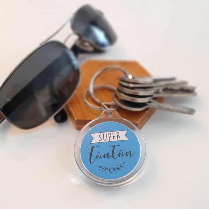 Porte clés Super tonton