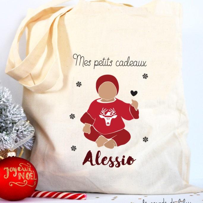 Tote Bag de Noël Bébé