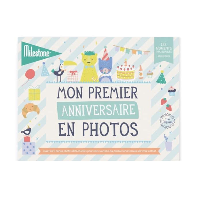 Livret de cartes photos Mon premier anniversaire