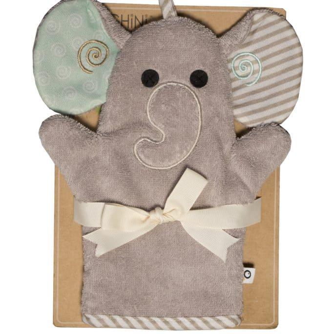 Gant de toilette Marionnette Éléphant