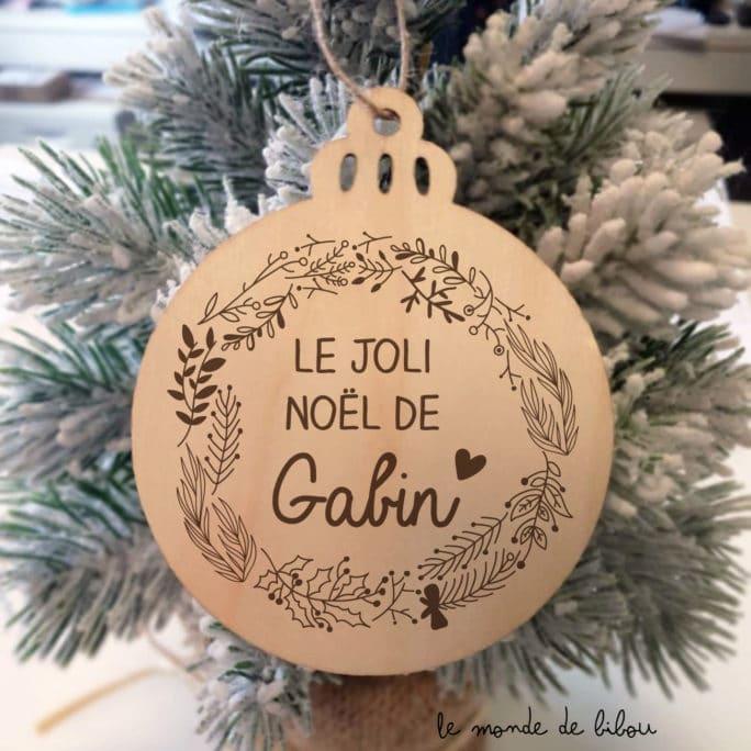 Boule Couronne de Noël