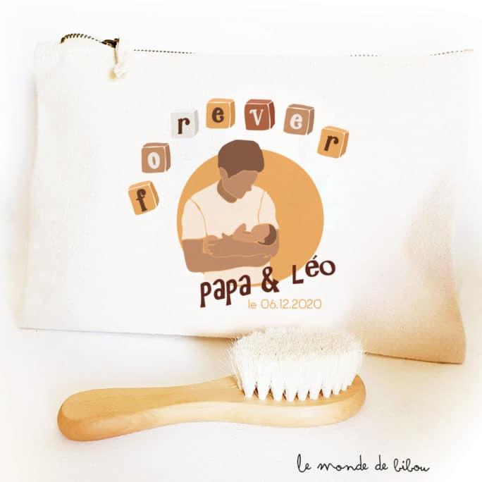 Pochette personnalisée Forever papa