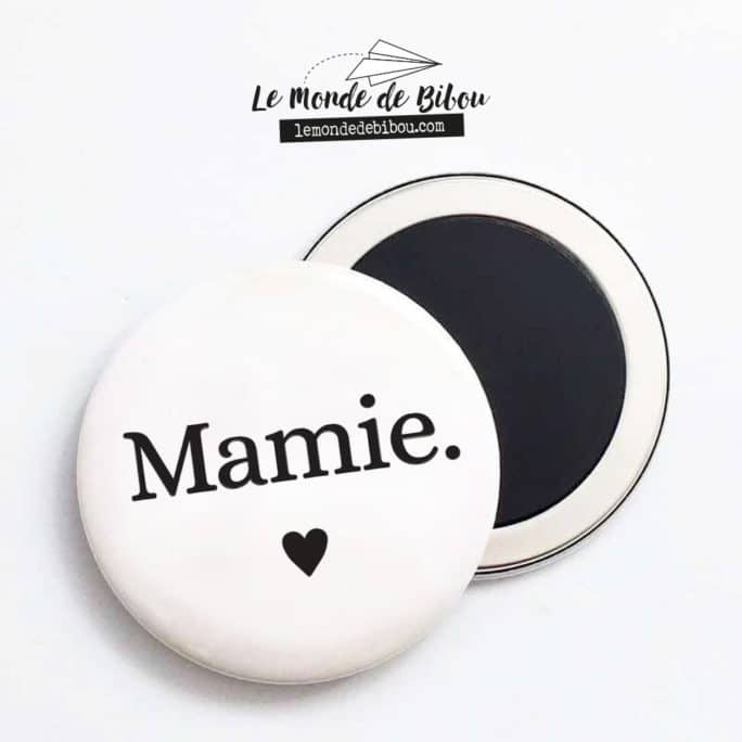 Magnet personnalisée Famille cœur