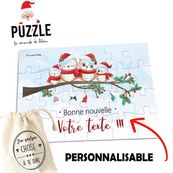 Puzzle de Noël Bonne nouvelle