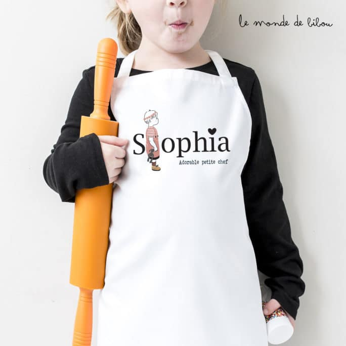 Tablier Adorable petite chef