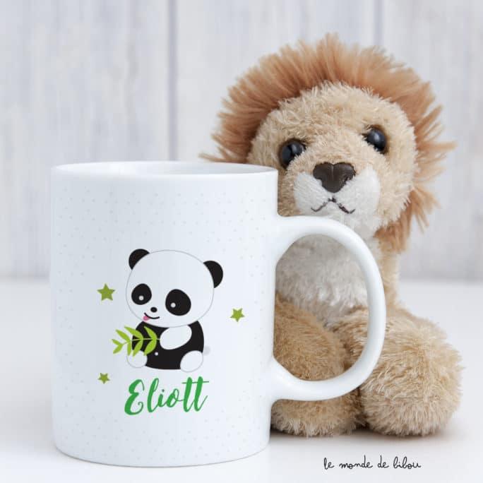 Tasse incassable personnalisée Panda
